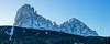 Majesty of Dolomites (Nicola Pezzoli) Tags: dolomiti dolomites unesco val gardena winter snow alto adige italy bolzano mountain nature december sassolungo monte pana santa cristina majesty panorama panoramic view morning dawn