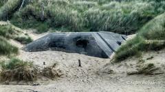 German bunker Utah beach, Normandy France (Peter Beljaards) Tags: bunker utahbeach normandy atlantikwall fortification france dday ww2 secondworldwar historical concrete