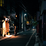 Come in - Tokyo, Japan - Color street photography thumbnail