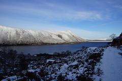 Glen Muick (steve_whitmarsh) Tags: aberdeenshire scotland scottishhighlands highlands winter snow ice lochmuick water loch lake path