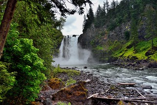 Snoqualmie Falls and River