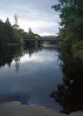 The Black Pool of Aviemore (WISEBUYS21) Tags: black pool aviemore scotland water bridge trees atmospheric still fresh spey speyside
