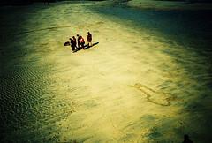 Lomo – it's behind you! (lomomowlem) Tags: 35mm analogue beach crossprocess colourstreambrighton ebx expiredfilm film kodakelitechrome lomo lomography lca lofi sand seaside xpro xprocess