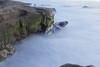 Pacific Rocks (Photos By Clark) Tags: subjects canon2470 beachshots canon60d sandiego california unitedstates us water pacific waves longexposure beach rocks green mist lightroom canon l 2470