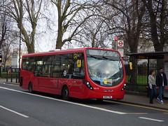 Meridian Streetlite, FML (londonbusexplorer) Tags: goahead london wrightbus streetlite pile of trash 286 greenwich cutty sark queen marys hospital tfl buses ws110 sk67fml