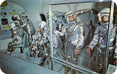 Project Mercury, The Wax Museum, Denver, Colorado (SwellMap) Tags: postcard vintage retro pc chrome 50s 60s sixties fifties roadside midcentury populuxe atomicage nostalgia americana advertising coldwar suburbia consumer babyboomer kitsch spaceage design style googie architecture