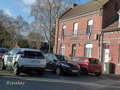 2018-01-17 Rieulay (10)mairie (april-mo) Tags: rieulay village hautsdefrance naturepark parcnaturelduhainaut townhall mairie