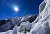 Sun Burst (Kitonium) Tags: sun burst ice snow mountain glacier sky helihike nz new zealand bbctravel natgeo natgeotravel national geographic travel travelling travelgram lonely planet lonelyplanet sony a7m2 outdoor nature franz josef franzjosef