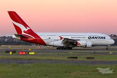 VH-OQC QF A380 34L YSSY-3167 (A u s s i e P o m m) Tags: mascot newsouthwales australia au qantas qf airbus a380 syd yssy sydneyairport