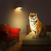 Waking up (jaci XIII) Tags: acordando tigre animal felino quarto cama cadeira lãmpada waking tiger feline bedroom bed lit chair