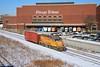 Headlines (BravoDelta1999) Tags: unionpacific up railroad chicagoandnorthwestern cnw railway lowline harvardsubdivision grandavenue eriestreet yard chicago illinois tribune warehouse freedomcenter emd gp151 upy 712 yno68 manifest train