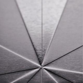 Shiny Silver Square Symmetry