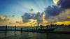 New Day (I am PhotoG) Tags: sky cloud sunrise water seascape boat rays outdoor travel terengganu malaysia beach shortvacay duyongmarinaresort