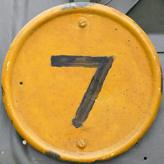 number 7 (Leo Reynolds) Tags: xleol30x panasonic lumix fz1000 squaredcircle 7 seven onedigit number xsquarex grouponedigit xx2018xx