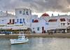 Mykonos (marian62´: )) Tags: mykonos grecia mañana nubes puerto azulyblanco