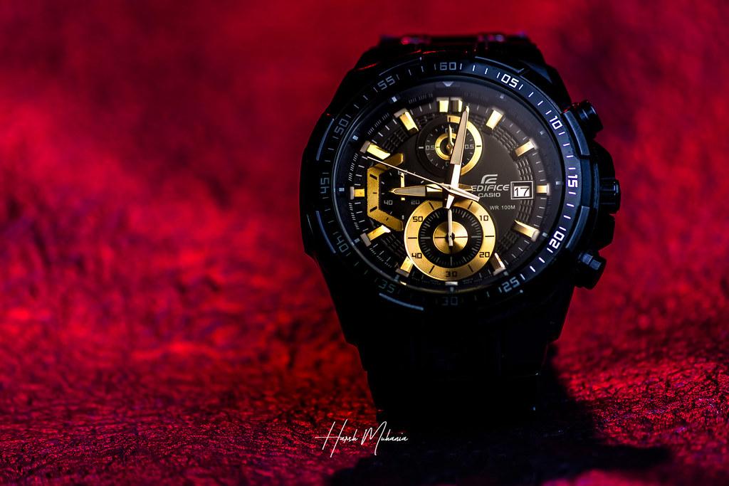 6c8eaf0f32f4 Casio Edifice 3 (Harsh.Muhania) Tags  casio edifice wristwatch gold golden  deadline