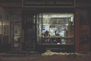 Sandwhich Store Matte - Film Imitation