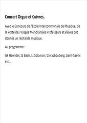1. Concert Orgue et Cuivres