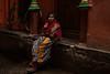 Varanasi. Uttar Pradesh. India. (Tito Dalmau) Tags: street portrait woman varanasi uttarpradesh india