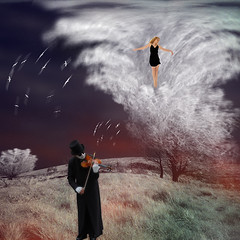 the sound of music (old&timer) Tags: background infrared longexposure filtereffect composite surreal song4u oldtimer imagery digitalart laszlolocsei