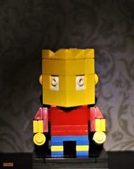 cubedude bart (notatoy) Tags: lego brick figures geek toys bart simpson cubedude