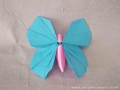 8/365 Butterfly by Riccardo Foschi (origami_artist_diego) Tags: origami origamichallenge butterfly paperfolding papiroflexia dobradura