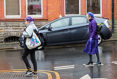 Purple (EightBitTony) Tags: 2018 women purple pony trainers city february nottingham handbag urban taxi woman vehicle person car people canon7d2 streetphotography sneakers citycentre uk nottinghamshire canon canon7dmarkii canon7dmark2 canon7dmk2 canon7dii canondslr canoneos canoneos7dmarkii canoneos7d2 canoneos7dii