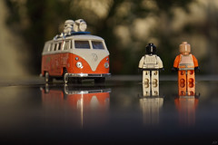 The sun is back (arnaud patoto) Tags: surf vw van lego starwars sun reflet reflect reflection stormtrooper