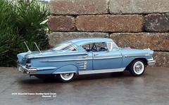 1958 Chevrolet Impala Hardtop Sport Coupe (JCarnutz) Tags: 124scale diecast danburymint 1958 chevrolet impala
