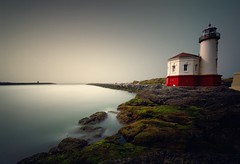 Coquille Lighthouse (AirHaake) Tags: longexposure longexposurephotography bandon oregon coquille coquillelighthouse haida haidafilters atmosphere mood ethereal pentax pentaxk1