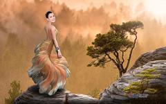 Carlos Atelier2 - A beleza (Carlos Atelier2) Tags: carlos atelier2 mulher tom pastel peixe