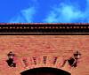 Brick facade (chrisk8800) Tags: architecture building facade bricks brickfacade arch streetlamps ornament sky composition texture structure lines curve geometric barcelona