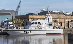 HMS ARCHER  P264 (fordgt4040) Tags: coastal clyde nikon nikond750 nikkorlens royalnavy hms navy naval patrolboat nautical warship navalvessel scotland marine sea firthofforth hmsarcherp264 eastcoast portofleith princealbertdock