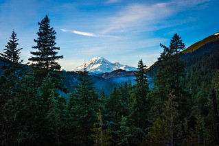 Mount Rainier Washington State