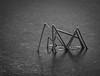 ice spider (MortenTellefsen) Tags: 2018 januar ice straw straws bw blackandwhite blackandwhiteonly monochrome svarthvitt artinbw art abstract