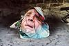 fire starter, croatia (marisapopovic) Tags: street streetphotography face newspaper bbq croatia summer documentary documentaryphotography