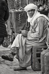 Berber (amazigh) (radimersky) Tags: amazigh berber essaouira medina oldtown morocco maroko portrait portret man mężczyzna day dzień africa afryka dschx60 sony travelphotography travel streetphotography street monochrome blackwhite bw compactcamera candid czarnobiałe czarnobiały seating siedzący smoking cigarette