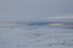 Distant Storms (Derbyshire Harrier) Tags: snow december peakdistrict peakpark moorland stormy winter derbyshire darkpeak blueclouds 2017 ngc