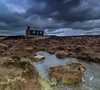 Dark skies and Frozen Water (Impact Imagz) Tags: isleoflewis outerhebrides westernisles hebrides hebrideanskies hebrideanlight hebridean moorland moor pentlandroad cloudsstormssunsetssunrises cloudscapes airidh frozenwater