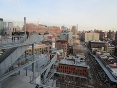 Whitney Museum balcony view of Upper Manhattan Skyline 6386 (Brechtbug) Tags: new whitney museum american art balcony view upper manhattan skyline highline york city nyc 01212018 street former rail road garden path walk way elevated el remodeled derelict urban reclamation boardwalk skyway pedestrian mezzanine streets midtown downtown meat packing district west side transportation design redesign architecture gallery 2018