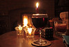 Power Cut!! (christina.marsh25) Tags: candles fire log wine