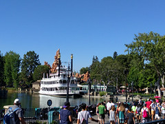Mark Twain - Disneyland, California (BeerAndLoathing) Tags: california summer anaheim roadtrip trips disneyland disney californiatrip googleandroid july nexus6p 2016 usa google android unitedstates us