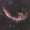 Eastern Veil Nebula (Daniele Malleo) Tags: easternveil veilnebula nebula astrophotography astronomy stars ha o3 s2 rgb