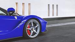 I'm Blue (Beyond Speed) Tags: ferrari laferrari supercar supercars cars car carspotting nikon v12 blue automotive automobili auto automobile uk london hotel
