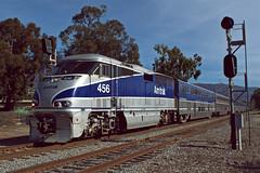 Amtrak 1761 (caltrain927) Tags: union pacific railroad amtrak passenger train surfliner emd f59phi ge b328wh p328wh santa barbara california ca