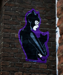 HH-Wheatpaste 3573 (cmdpirx) Tags: hamburg germany reclaim your city urban street art streetart artist kuenstler graffiti aerosol spray can paint piece painting drawing colour color farbe spraydose dose marker stift kreide chalk stencil schablone wall wand nikon d7100 paper pappe paste up pastup pastie wheatepaste wheatpaste pasted glue kleister kleber cement cutout