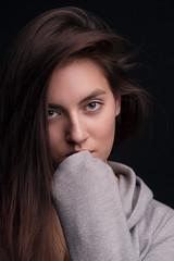Elina (TheHelmsman) Tags: za zeiss carlzeiss a850 sonnart18135 sony portrait actress studio model models girls