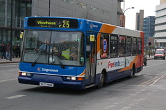 Stagecoach Volvo B6BLE 31937 V137MAK - Sheffield (dwb transport photos) Tags: stagecoach volvo eastlancs spryte bus 31937 v137mak sheffield