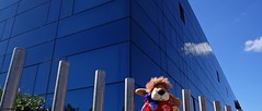 Gijón, Asturias, España. (Caty V. mazarias antoranz) Tags: gijón asturias playadesanlorenzo marcantábrico cantábrico cimadevilla nortedeespaña playasdeespaña leonciaengijón principadodeasturias agua blue españa inspain juntoalmar leoncia leonie multicolor pueblosdeespaña pequeñosdetalles arquitecturaenespaña reflejos spain turismoenespaña undíaenlaplaya