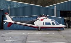 ZS-HJK Agusta A109C @ Castle Air Charters Ltd, Liskeard, Cornwall. (Sw Aviation) Tags: zshjk agusta a109c castle air charters ltd liskeard cornwall